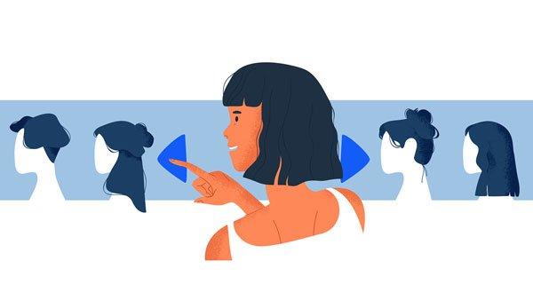 virtual hairstylist