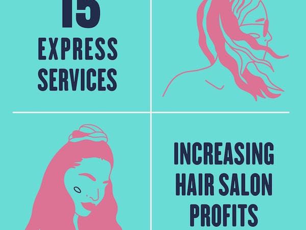 services in a hair salon